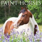 Willow Creek Press Paint Horses 2022 Wall Calendar