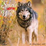 Willow Creek Press Spirit of the Wolf 2022 Wall Calendar