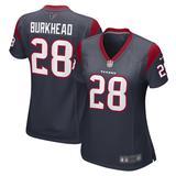 Women's Nike Rex Burkhead Navy Houston Texans Game Player Jersey