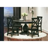 Picket House Furnishings Brixton Wooden Side Chair Set in Grey - Picket House Furnishings M.22130.SC