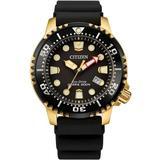 Professional Diver Black Dial Watch -06e - Black - Citizen Watches