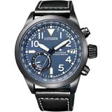 Eco Drive Promaster Leather Strap Watch - Black - Citizen Watches