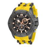 Invicta Speedway Men's Watch - 50mm Yellow Gunmetal (32255)