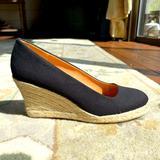 J. Crew Shoes | J Crew Espadrilles Nwot Black Size 7.5 | Color: Black/Tan | Size: 7.5