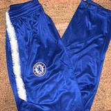 Nike Bottoms | **Bnwt** Chelsea Soccer Training Pants From Nike | Color: Blue/White | Size: 16b