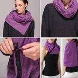 Lululemon Athletica Accessories   Lululemon Vinyasa Scarf Wrap Winter Infinity Warm   Color: Purple   Size: Os