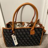 Dooney & Bourke Bags | Dooney & Bourke Small Tote | Color: Black/Blue | Size: Small