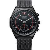 Connected Mesh Strap Hybrid Smartwatch - Black - Citizen Watches