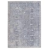 Jaipur Living Larkin Floral Blue/ Light Gray Area Rug (8'X10') - Jaipur Living RUG151162