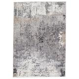 """""""Vibe by Jaipur Living Perrin Abstract Gray/ Tan Area Rug (9'6""""""""X13') - Jaipur Living RUG151144"""""""