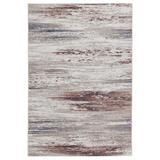 Vibe by Jaipur Living Oberon Abstract Light Gray/ Brown Area Rug (10'X14') - Jaipur Living RUG150300