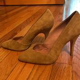 Madewell Shoes   Madewell Suede Chartreuse Green Pumps 6   Color: Green/Yellow   Size: 6