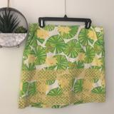 Lilly Pulitzer Skirts   Lilly Pulitzer Bright Beautiful Skirt Hip Hop   Color: Green/Yellow   Size: 12