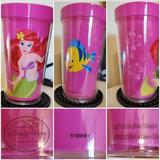 Disney Kitchen   Disney'S Little Mermaid 16 Oz. Insulated Tumbler   Color: Pink   Size: Os