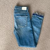Anthropologie Jeans   Citizen Of Humanity Cropped Rocket Jeans   Color: Blue   Size: 27