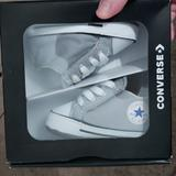 Converse Shoes   Baby Converse Crib Shoes   Color: Gray   Size: 1bb