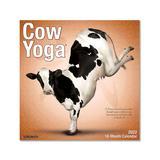 Willow Creek Press Calendars Various - Cow Yoga 18-Month 2022 Wall Calendar