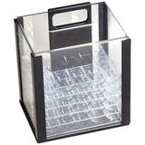 GSE Games & Sports Expert Casino Acrylic Poker Chip Carrier w/ Poker Trays, Size 12.5 H x 7.6 W in   Wayfair CS-4012