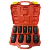 WFX Utility™ Pro Renville Nut Impact Socket Bit Set Front & Back Wheel Driver Sockets Tool Plastic, Size 4.0 H x 14.0 W x 11.0 D in | Wayfair