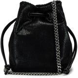 Mini Falabella Shoulder Bag - Black - Stella McCartney Shoulder Bags