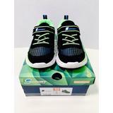 S Sport by Skechers Lights Boys Esmen Hook & Loop Close Sneakers Size US 10