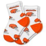 Cleveland Browns Infant Socks (2-pack)