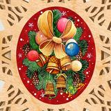 The Holiday Aisle® Classic Christmas Wooden Tree Topper By G.debrekht, Size 16.5 H x 10.7 W x 0.5 D in | Wayfair 5F4CBDE033DB406FB60FCACA984B2F8F