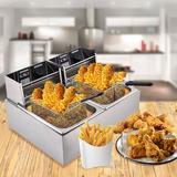 Viugreum 16 Liter Electric Deep Fryer w/ Basket, Size 22.44 H x 17.71 W x 12.2 D in   Wayfair ES0051900-ldm