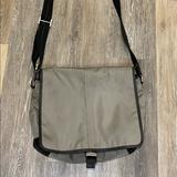 Coach Bags   Coach A1176-F70443 Nylon Messenger Laptop Bag   Color: Black/Gray   Size: Os