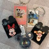 Disney Other   Disney Key Chains Plus Tigger And Minnie Pins   Color: Orange/Pink   Size: Os