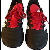 Adidas Shoes   Adidas Goletto V Tf Soccer Cleats   Color: Black/Red   Size: 312