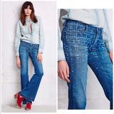 Free People Jeans   Free People X Citizens Humanity Charlie Geo Flares   Color: Blue   Size: 27