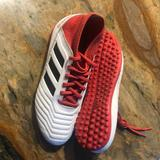 Adidas Shoes | Adidas Predator Indoor Turf Soccer Shoes | Color: Red | Size: Kids Size 3 12