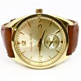 Michael Kors Accessories | Michael Kors~Callie~Champagne Dial Ladies' Watch | Color: Brown/Gold | Size: 9.2 Total Length