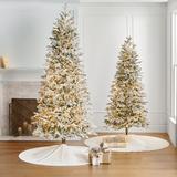 Snowdrift Noble Fir Tree - 10' - Frontgate - Christmas Tree