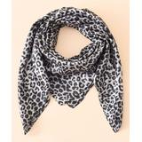 H.O.P.E Women's Cold Weather Scarves Gray - Gray Cheetah Lightweight Scarf