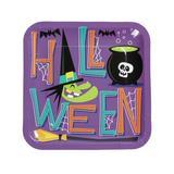 Oriental Trading Company Goofy Ghouls Paper Dinner Plates - 8 Ct. - Halloween - Print Tableware - 8 Pieces | Wayfair 13807596