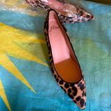 J. Crew Shoes   J Crew Calf Skin Leopard Print Kitten Heel   Color: Brown/Tan   Size: 7.5