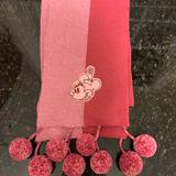 Disney Accessories | Minnie Mouse Scarf | Color: Pink | Size: Os
