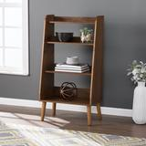 Berritza Midcentury Modern Bookshelf by Southern Enterprise in Brown