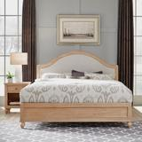 Cambridge White King Bed & Night Stand by Homestyles in White
