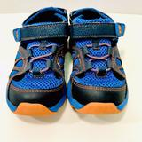 Stride Rite Made 2 Play Scout Boys Size 11W Closed Toe Hook & Loop Close Sandal