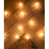 Lamei String Lights Warm - Warm White USB Hair Ball 80-Bulb LED String Light