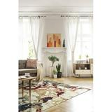 """17 Stories Arcel Collection Ivory 1'10"""" X 3' Rectangle Throw Rug Polypropylene in White, Size 59.0 W x 0.394 D in   Wayfair"""
