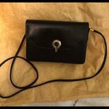 Gucci Bags   Rare Vin Gucci Black Lizard Handbagclutch   Color: Black/Gold   Size: 2x8x6