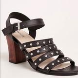 Torrid Shoes | Black Chunky Heel Sandals | Color: Black | Size: 9