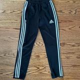 Adidas Bottoms | Adidas Kids Soccer Pants | Color: Black/White | Size: Youth Unisex Large