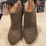 Nine West Shoes   Nine West Booties - Olive Suede Size 6   Color: Green   Size: 6