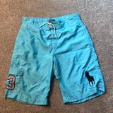 Polo By Ralph Lauren Swim | Boys Aqua Board Shorts. Navy Accent | Color: Blue | Size: Lb
