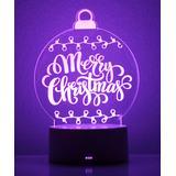 Etchey Women's Night Lights - 'Merry Christmas' Ornament Night Light